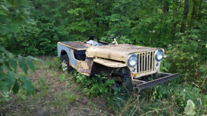 1953 Willys CJ2A Jeep