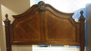 King size head board and rails brand new