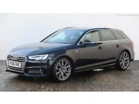 2017 Audi A4 2017 66 Audi A4 2.0 TDI S Line Avant S Tronic New Model Diesel blac
