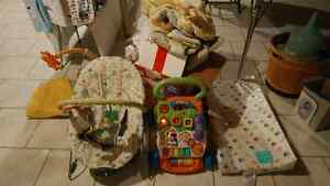 Baby items, all in great shape