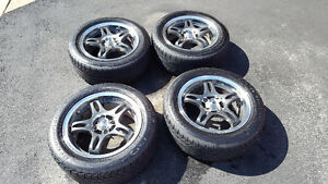 konig 15 inch 4x100mm with Tires for Honda Civic - Used