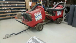 Paddock & Landscape Vacuum 500L for rent or purchase!