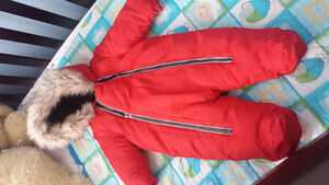 Winter snow suit