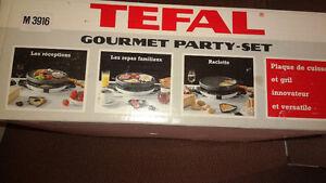 Plaque de cuisson et grill TEFAL