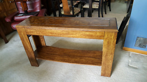 Console Table, Solid Wood
