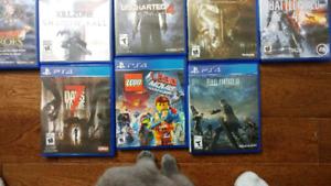 PS4 GAMES - Make an offer