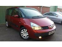 2004(04) RENAULT ESPACE 2.2dCi EXPRESSION RED SEVEN SEATER 7 SEATS MPV