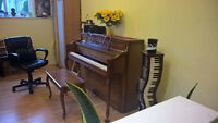 Piano Lessons in my home studio/ and Three Willows United Church