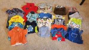 Boys summer 3-month lot