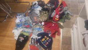 Boy clothing lot size 3-6 months