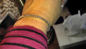 Crystal stretch bracelet, purchased at charm $ 25