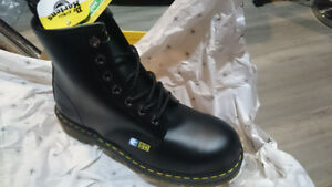 Doc Martens Doctor AirWair Black Safety Work Boots US12 - New