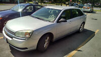 2005 Chevrolet Malibu Maxx LS V6 with 4 winter tires on rims