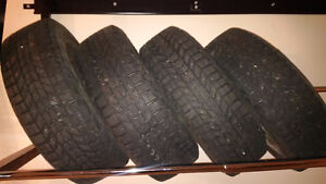 Winter tire on rims lightly used Toyota Echo 175/65R14