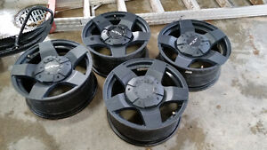 "RTX THUNDER aftermarket RIMS 1""offset"
