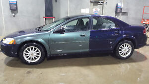 2003 Chrysler Sebring (use for parts,fix or winter beater)