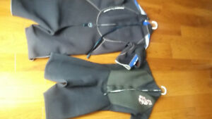 Wet Suit set for diving or snorkelling