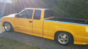 Tired of extreme gas prices?  Check out my 2003 chev S-10!