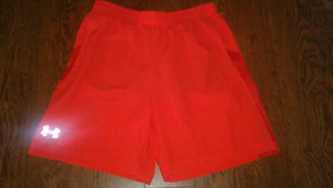 Under Armour Heat Gear Shorts Adult Large
