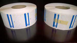 Vintage Old New Stock Large Rolls of Labels, Floppy Disks & More