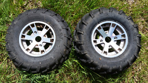 2009 Can-am 800 rims and tires