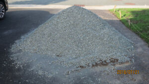 Crushed stone, gravel