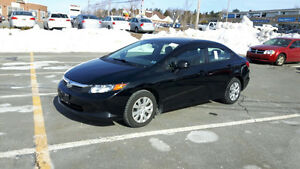 2012 Honda Civic lx Sedan NEW MVI LOOKS AND DRIVES LIKE NEW