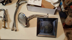 Brand New Polished Chrome Shower Heads for Sale!