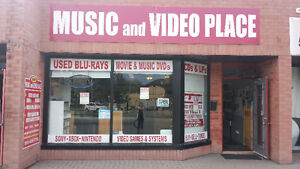 MVP Pays CA$H for DVDs●CDs●Blu-Rays●Vinyl Records-Rock+Blues
