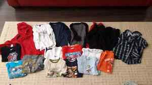 Lot of long sleeve and t shirt size small 7/8