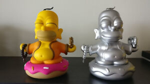 Kidrobot - The Simpsons Homer Buddha 7 inch Vinyl Figures