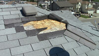 Missing shingles on the roof? Need repairs? Prevent Water Damage