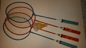 KIDS BADMINTON SET