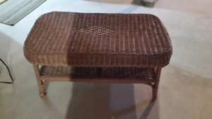 Wicker table for sale