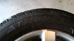 "16"" VW OEM Rims and new 205/55/16 all season tires Kitchener / Waterloo Kitchener Area image 6"