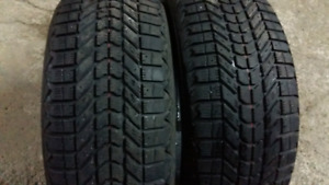 2  WINTER TIRES  205/60/r15