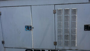 Genset 50 kw diesel near new