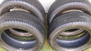 4 excellents pneus d'été 195 55 15