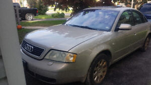 2001 Audi for parts