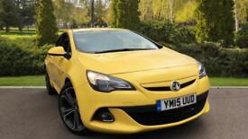 2015 Vauxhall Astra GTC 1.4T 16V 140 Limited Edition 3 Manual Petrol Coupe