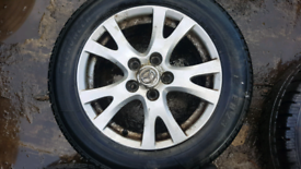 Mazda 6 16 inch alloyd with tyres