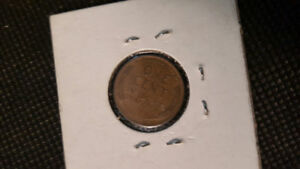 COINS US PENNY 1936,5CENTS US 1904,US PENNY 1941,1944,1900 OLD 2