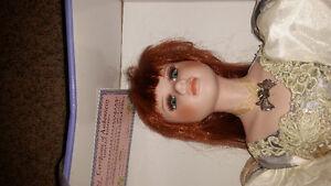 4ft tall porcelain doll