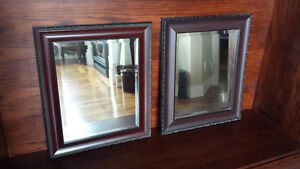 Two Framed Mirrors