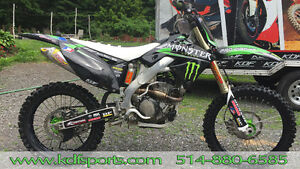 Kawasaki KX 250 2009 édition Monster Energy