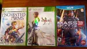 Xbox 360,PS3 & WiiU Games $10 each