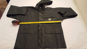 Carhartt surrey rain coat new