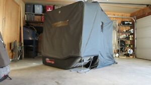 Wilderness Series flip up portable fishin shack