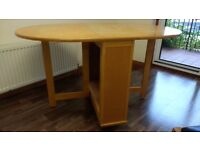 FREE Wooden drop leaf table