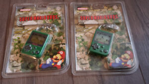 Nintendo Mini Classic Keychains-New in Packaging from 1998.